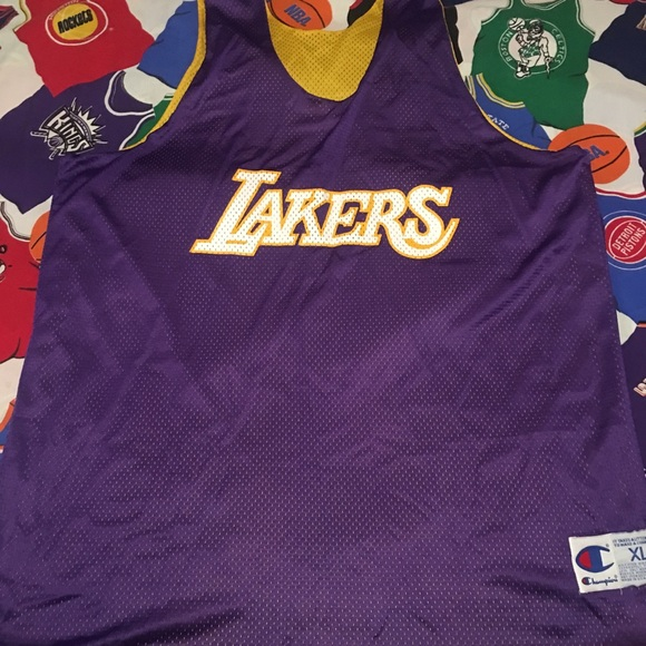88c6eea2d Champion Other - Vintage Champion reversible Lakers practice jersey